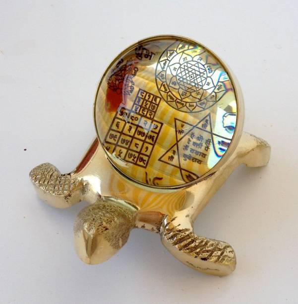 The Essentials Sri Meru Prastha Samporna Sri Yantra Brass Yantra