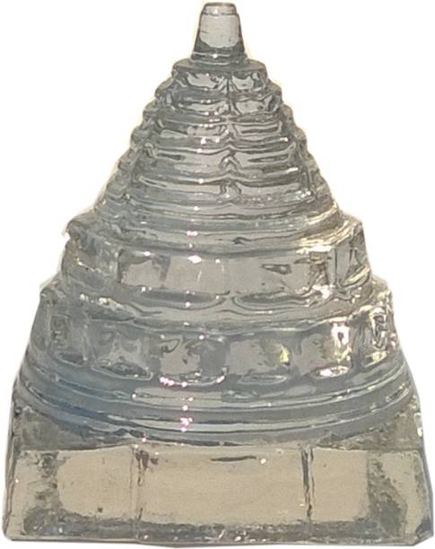 Mann Retails Blessed shriyantra for lucky charm Crystal Yantra