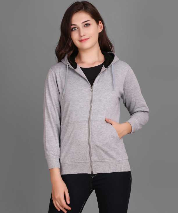 Flipkart - Full Sleeve Solid Women Sports Jacket