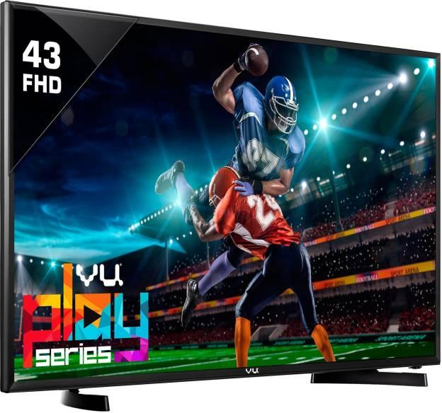 Vu 109cm (43) Full HD LED TV(43D6575, 2 x HDMI, 1 x USB)