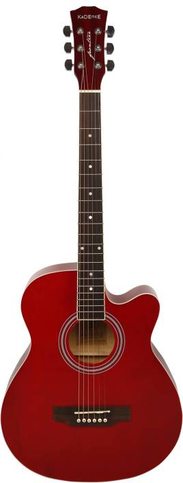 Kadence KAD-FNTR-RED Spruce Acoustic Guitar