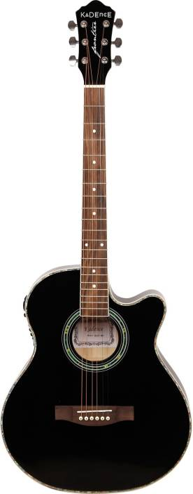 Kadence KAD-BLK-EQ-C Spruce Acoustic Guitar