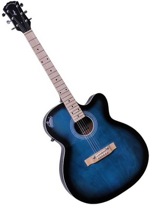 Signature Topaz Blue Rosewood Acoustic Guitar
