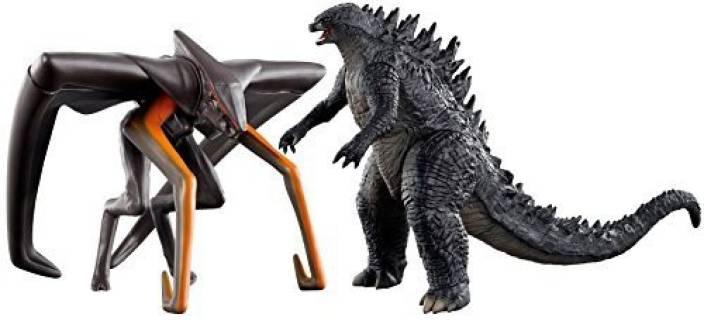 Bandai Japan Movie Monster Series 2014 Godzilla Muto 2 Pack Set
