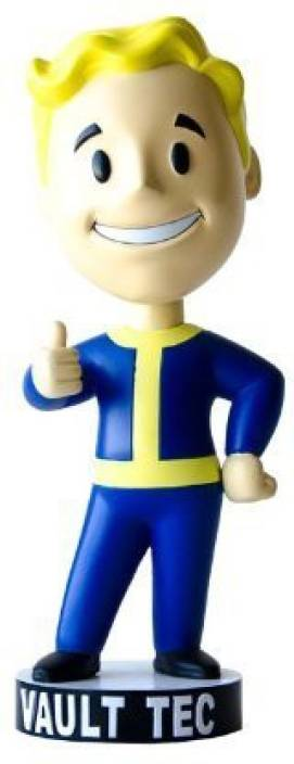 Bethesda Fallout 3 Vault Tec Pip Boy Thumbs Up Bobblehead 7