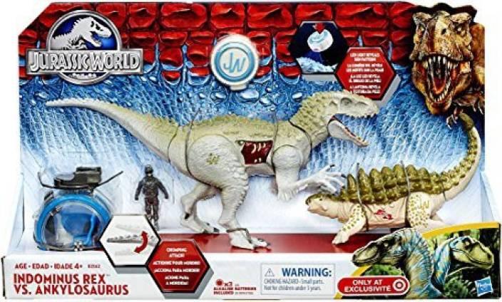 Jurassic World Capture Vehicle Indominus Rex Vs Ankylosaurus