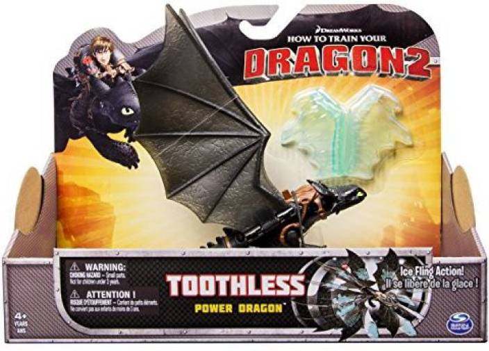 Dreamworks Dragons How To Train Your Dragon 2 Power Dragon Toothless