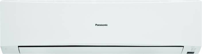 Panasonic 1 Ton 2 Star BEE Rating 2017 Split AC  - White