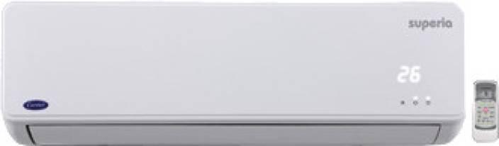 carrier split air conditioner. carrier 1.5 ton 5 star split ac - white air conditioner flipkart