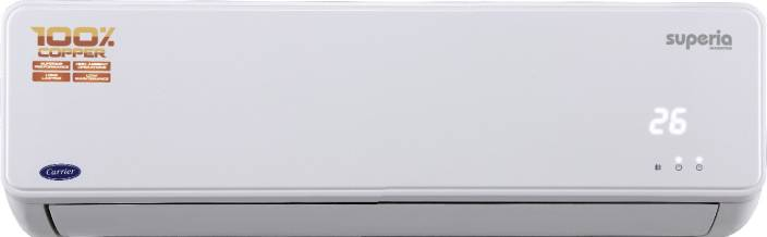 Carrier 1 Ton 4 Star BEE Rating 2017 Inverter AC  - White