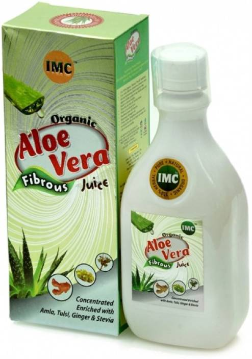 Imc Imc Organic Herbals Aloevera Fibrous Juice Price In