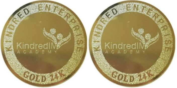 KINDRED ENTERPRISE LLC GOLD DUO Anti-Radiation Sticker