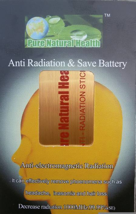 Pure Natural Health Anti Radiation Mobile/Tablet/Laptop/Wifi Chip Anti-Radiation Sticker