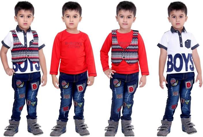 6c0efe138 Bad Boys Boys Casual T-shirt Jeans Price in India - Buy Bad Boys ...
