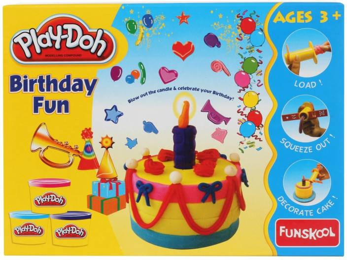 Play Doh Birthday Cake Kit