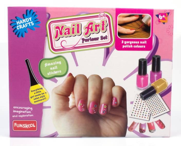 Funskool Nail Art Parlour Set - Nail Art Parlour Set . shop for ...