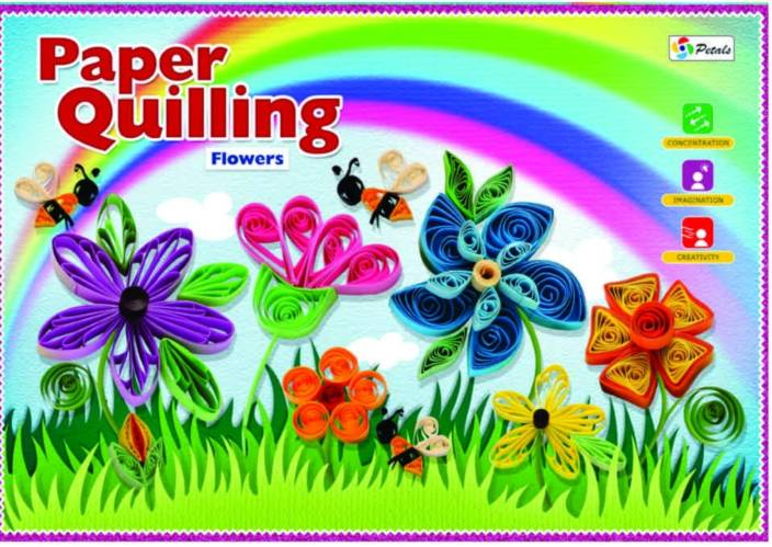 Petals Paper Quilling Flower