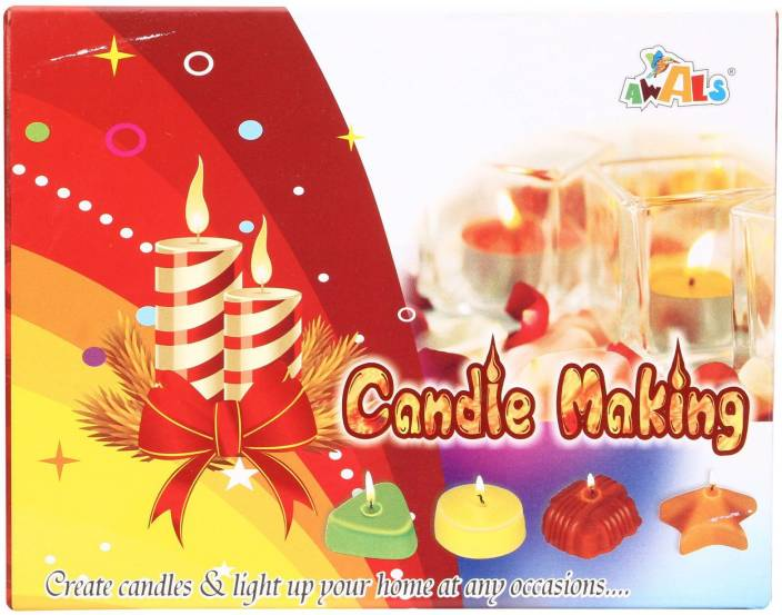 Awals Candle Making Kit - Pack Of 4 - Candle Making Kit