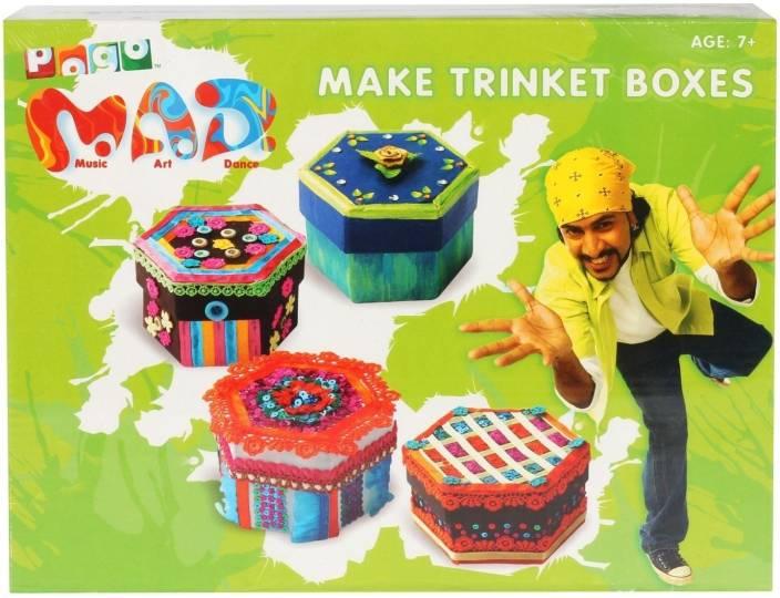 POGO Mad Make Trinket Boxes