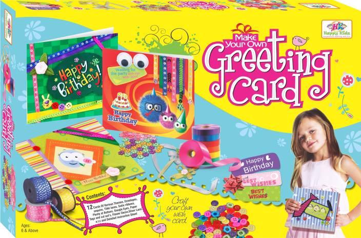 Happy Kidz Make Your Own Greeting Card Make Your Own Greeting – Make Your Own Photo Birthday Card