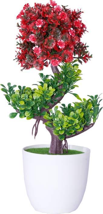Oyedeal Bonsai Wild Artificial Plant  with Pot