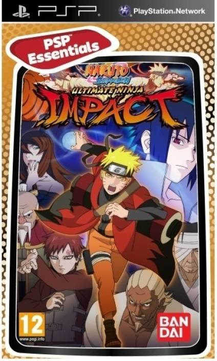 Naruto Shippuden: Ultimate Ninja Impact Price in India - Buy