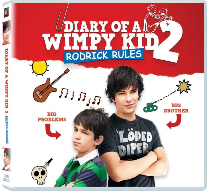 Diary of a wimpy kid 2 roderick rules price in india buy diary diary of a wimpy kid 2 roderick rules solutioingenieria Choice Image