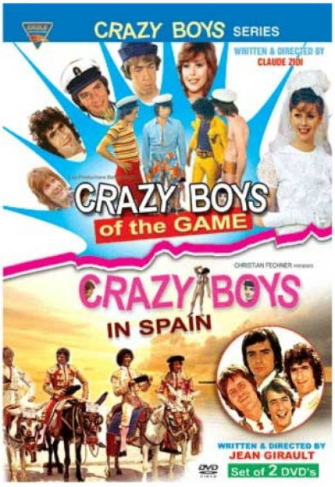 Crazy Boys Series (Set Of 2 Movies)
