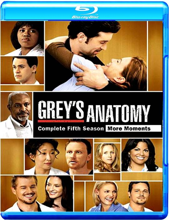Greyaposs Anatomy Season 5 Complete Price In India Buy Greyapos