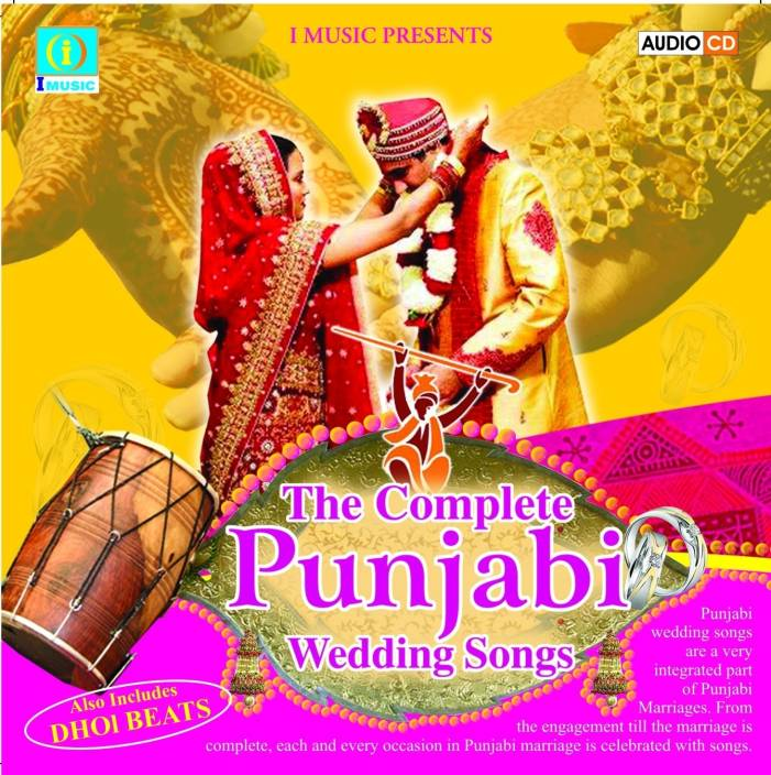 the complete punjabi wedding songs