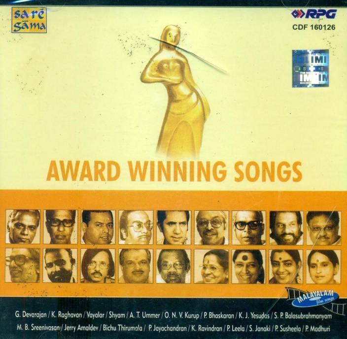 Award Winning Songs From Malayalam Films Audio CD Standard Edition