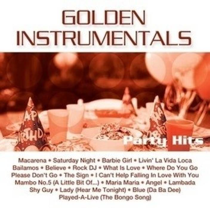 Golden Instrumentals - Party Hits Music Audio CD - Price In India