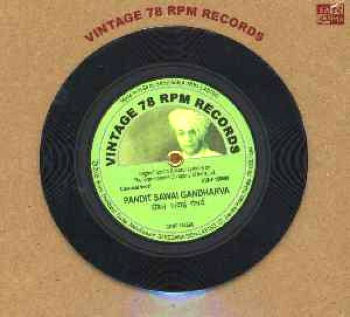 Vintage 78 RPM Records Audio CD Standard Edition Price in