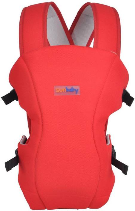 Sunbaby Baby Carrier - Red Baby Carrier
