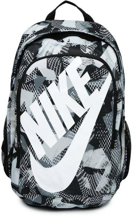 133aeed958 Nike Nike Unisex Grey   Black Hayward Futura 2.0 Printed Backpack 25 L  Backpack (Multicolor)