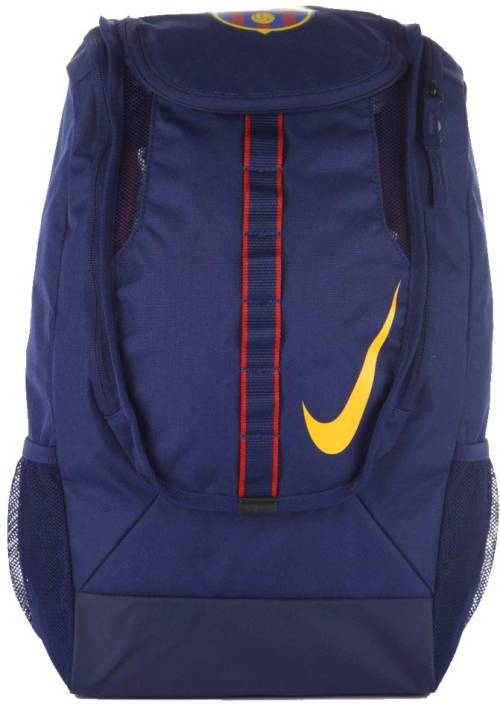 07dc0ec82 Nike Fc Barcelona Shield Compact 24 L Large Backpack (Blue, Yellow, Red)
