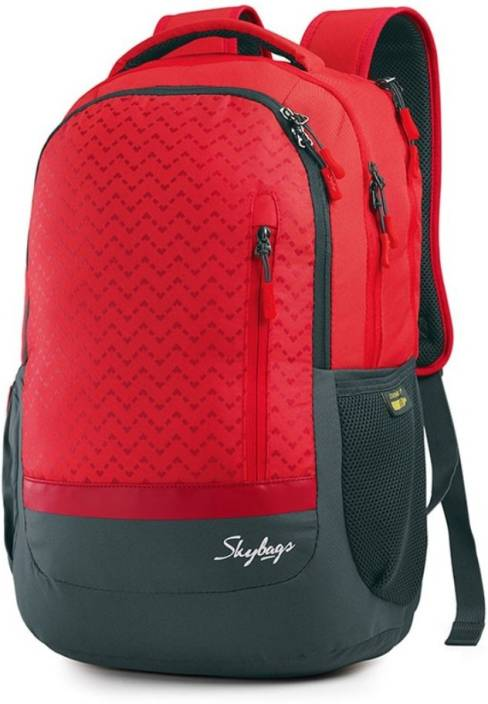 ec6387b0e8 Skybags Lazer 01 Red 29 L Backpack red - Price in India