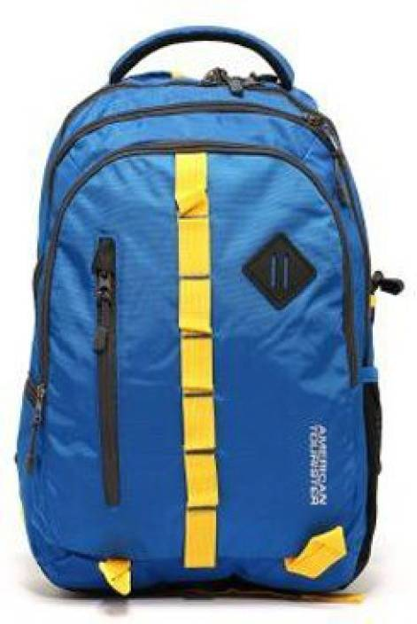 940cd6cc560d American Tourister Buzz 04 2015 25 L Backpack Blue - Price in India ...