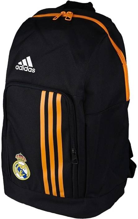 9a4a27a52c5a ADIDAS Real Madrid Medium Backpack Black - Price in India