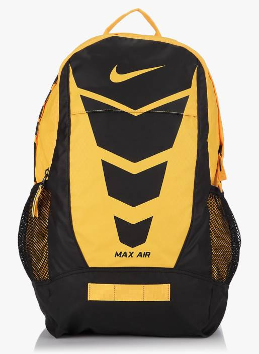 26483f479874 Nike Max Air Vapor Medium 30 L Backpack Yellow - Price in India ...