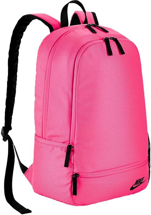Nike NIKE CLASSIC NORTH SOLID PINK BACKPACK 22 L Backpack Pink ... 020c8df8e7546