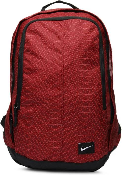 ac50b5a69b Nike Hayward 25m 4.5 L Medium Backpack TEAM RED DARK OBSIDIAN (WHITE ...