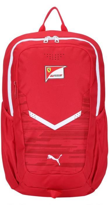b7c0895b273a Puma Ferrari Replica Backpack 15 L Laptop Backpack Rosso Corsa ...