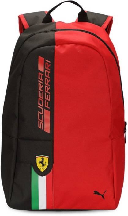 Puma Scuderia Ferrari Unisex Latest 17 L Backpack Black - Price in ... ef4ccf2f3c