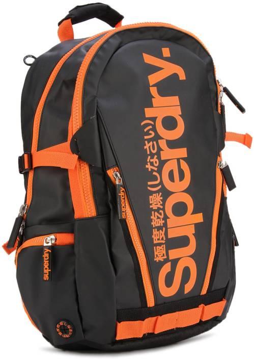 40cdcd7d9 Superdry Backpack Black - Price in India | Flipkart.com