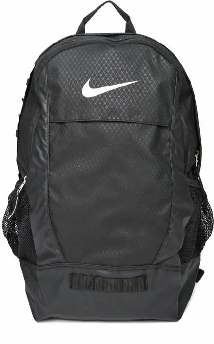 Nike Team Training Medium Bp 30 L Medium Backpack Black - Price in ... 1c0151fb17