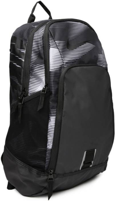 0f0414d187 Nike Nike Unisex Black   Grey Alpha Adapt Rev Striped Training Backpack 28  L Backpack (Black)