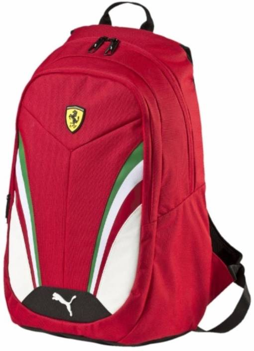 Puma Ferrari Replica 25 L Backpack Red - Price in India  953189ef3f83a