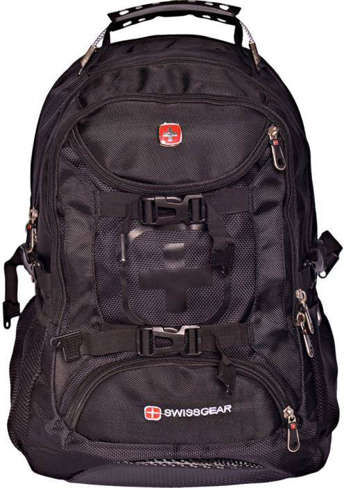 Swiss Gear 9337 Large Backpack Black - Price in India | Flipkart.com
