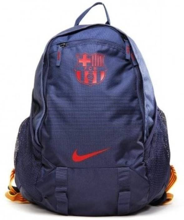 4d355839a7 Nike FC Barcelona Large Backpack Blue - Price in India